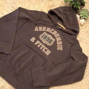 Men's A&F hooded sweatshirt